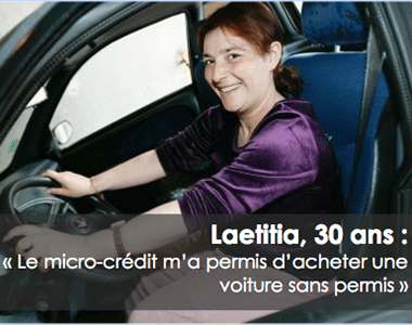 témoignage de Laeticia micro-credit