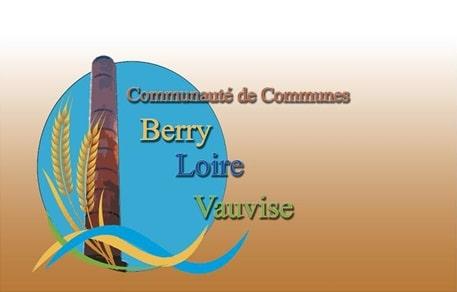 logo de la Communauté de communes Berry-Loire-Vauvise