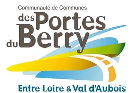 logo de la Communauté de communes des Portes du Berry