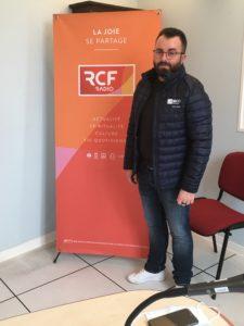 Interview de Cyrille Martinat sur RCF