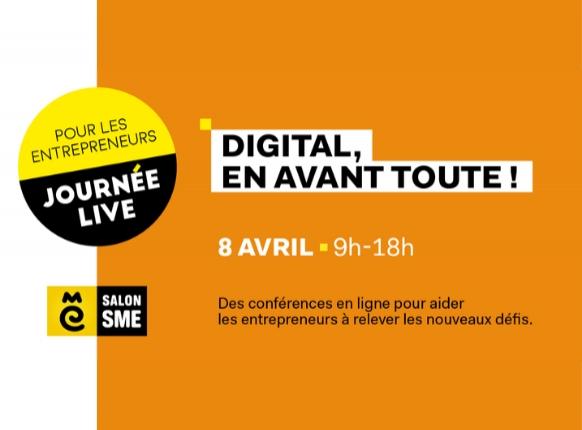 #EVENEMENT BGE vous donne rendez-vous le 8 Avril lors du SME Online