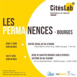 Permanences CitésLab