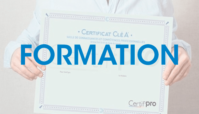 Formation certification Cléa