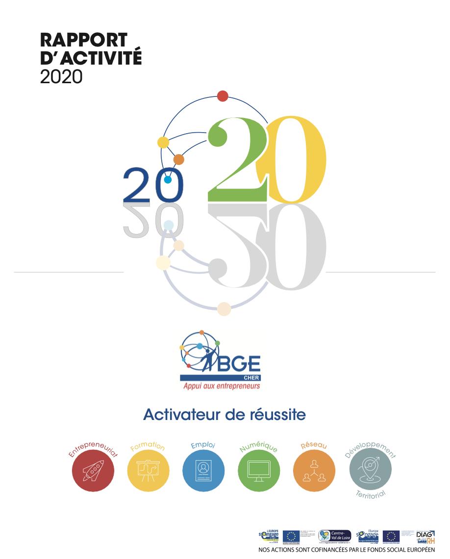 #Rapport d'activité BGE Cher 2020